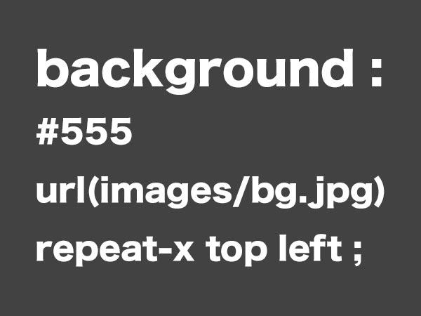 CSS background